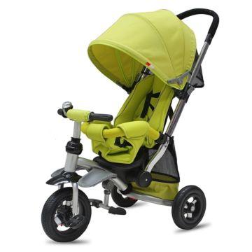 """Трехколесный велосипед Modi AIR Stroller с надувными колесами 10"""" и 8"""" (зеленый)"""