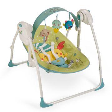 Электрокачели Happy Baby Jolly (зеленый)