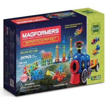 Конструктор Magformers Super Steam Set