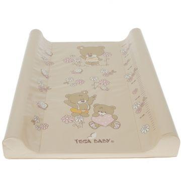 Пеленальная доска Tega Baby с ростомером Мишки