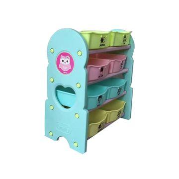 Этажерка с ящиками для игрушек Family F-826 Совушки