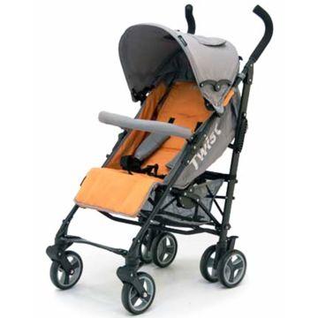 Коляска-трость Jetem Twist (orange/grey)
