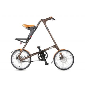 Велосипед складной Strida SD (2017) коричневый