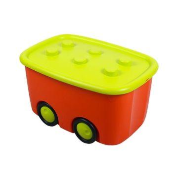Корзина для игрушек IDEA (М-Пластика) Моби (Оранжевый)