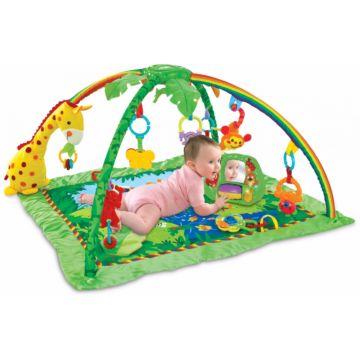 Развивающий коврик Fitch Baby Delux Musical Mobile Gym (jungle)