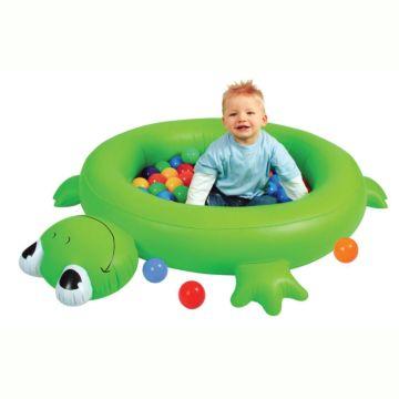Сухой надувной бассейн Upright Лягушонок с шарами