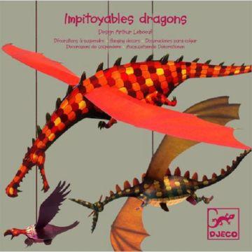 Подвесная игрушка Djeco Беспощадные драконы