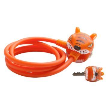 Замок тросовый Crazy Safety (Orange Tiger)