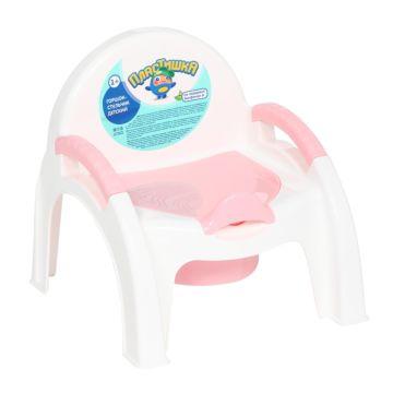 Горшок-стульчик Бытпласт 13267 (Розовый)