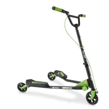 Инерционный самокат Y-Volution Fliker Carver C3 Green