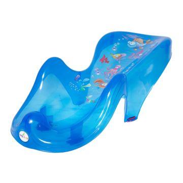 Детская горка для ванны Tega Baby антискользящая Aqua (голубой)