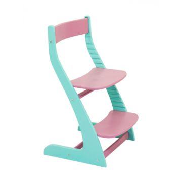 Растущий стул Бельмарко Усура двухцветный (мятный-лаванда)