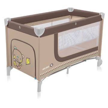 Манеж-кровать Baby Design Holiday (бежевый)