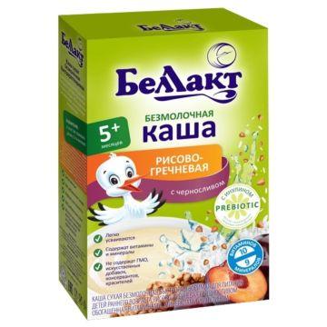 Каша сухая безмолочная рисово-гречневая с черносливом Беллакт (с 5 мес.) 200 г