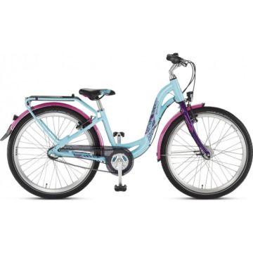 """Подростковый велосипед Puky Skyride 24-3 Alu Active light 24"""" (turquoise/lilac)"""