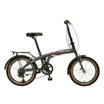 """Велосипед складной Novatrack Shimano 6 20"""" (2016) серый"""