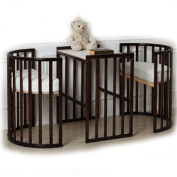 Кроватка-трансформер Roxie Incanto 3 в 1 (венге)