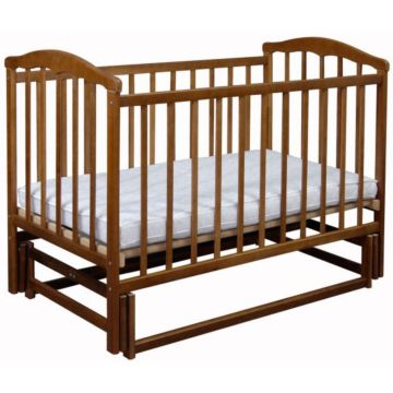 Кроватка детская Наполеон Чайка с поперечным маятником (орех)