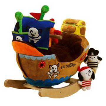 Качалка мягкая Felice Корабль с пиратами