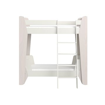 Кровать двухъярусная Ellipse Line M (молочный)