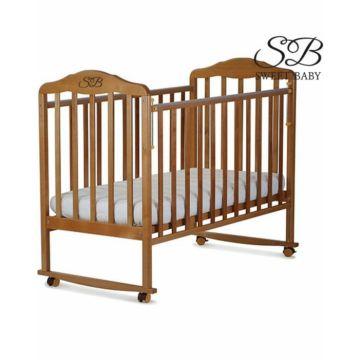 Кроватка-качалка Sweet Baby Lorenzo (378) (Венге)