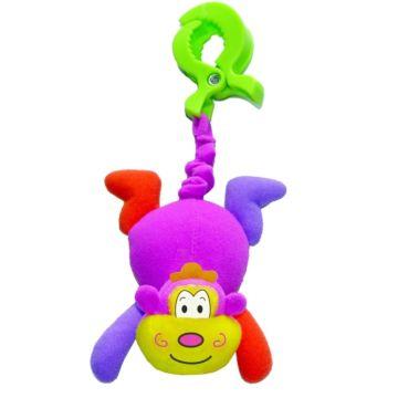 Развивающая игрушка-подвеска на клипсе Biba Toys Обезьянка