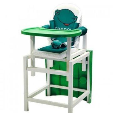 Стул-стол для кормления Babys FROGGY (зеленый)