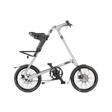 Велосипед складной Strida SD (2017) серебристый