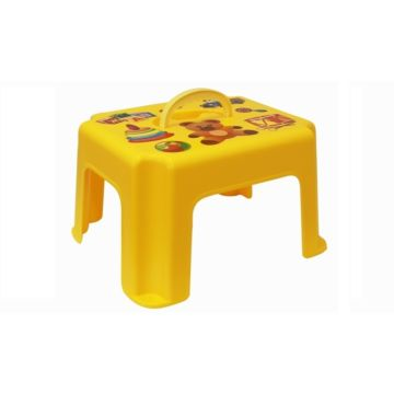Табурет детский IDEA (М-Пластика) с ручкой (Жёлтый)