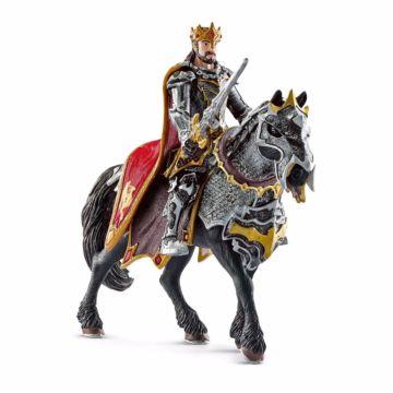 Набор фигурок Король на лошади Schleich