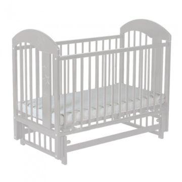 Кроватка детская Gnom Луна (поперечный маятник) (белый)
