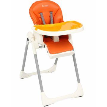 Стульчик для кормления Capella S-207 (Оранжевый)