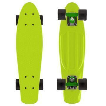 "Мини-круизер Y-Scoo Fish Skateboard 22"" с сумкой (зеленый)"