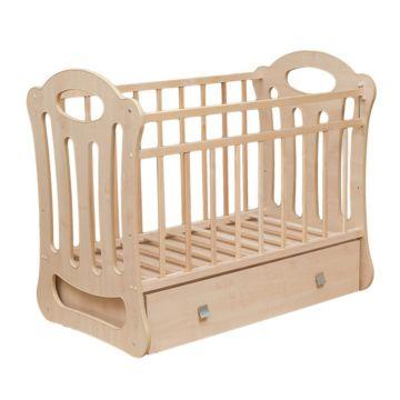 Кроватка детская ВДК Belinda (поперечный маятник) (клен)