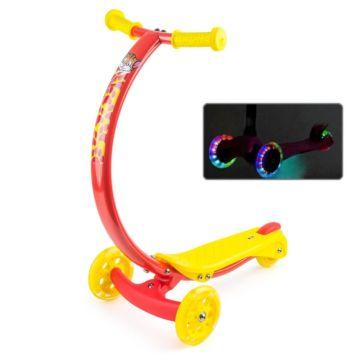 Самокат Zycom Zipster со светящимися колесами (котенок) ДИСКОНТ