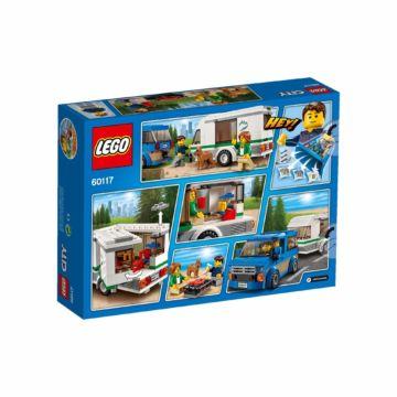 Конструктор Lego City 60117 Город Фургон и дом на колесах