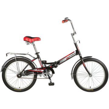 """Велосипед складной Novatrack TG20 20"""" (2016) черный"""
