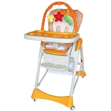 Стульчик для кормления ForKiddy Magic Toys (оранжевый)
