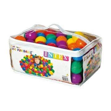 Пластиковые мячи Intex 49602 6,5 см. 100 шт.