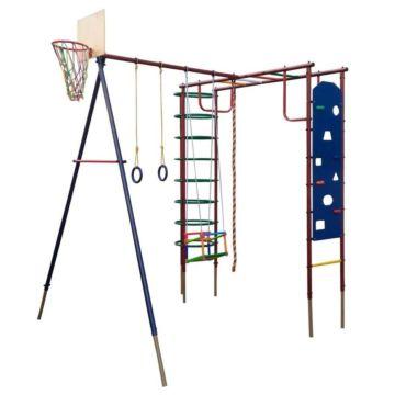 Детский спортивный комплекс Вертикаль Сатурн со скалодромом