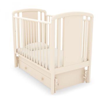 Кроватка детская Гандылян Жаклин (универсальный маятник) (слоновая кость)