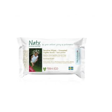 Влажные салфетки Naty Компакт 20 шт