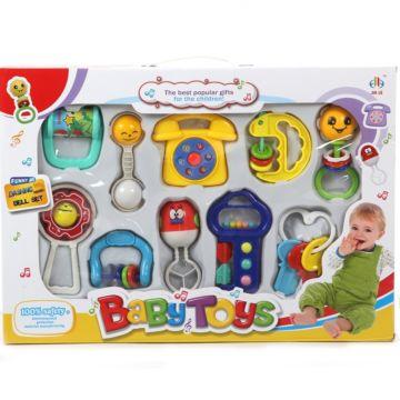 Развивающая игрушка Jia Le Toys Набор погремушек