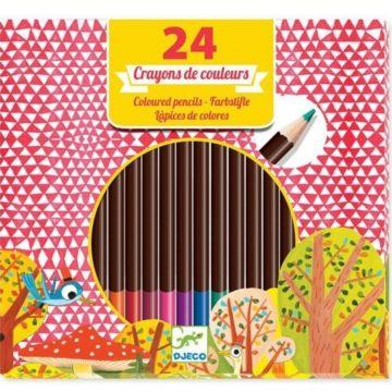 Набор карандашей Djeco (24 штуки)