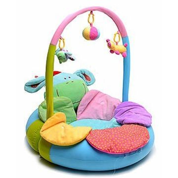 Развивающий коврик надувной Tinbo Toys Ослик и Цветок