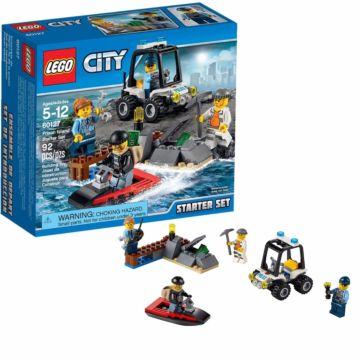 Конструктор Lego City 60127 Город Набор для начинающих: Остров-тюрьма