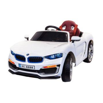 Электромобиль Coolcars HC6688 с крышей (белый)
