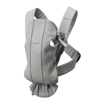 Рюкзак-кенгуру BabyBjorn Mini Jersey (светло-серый)