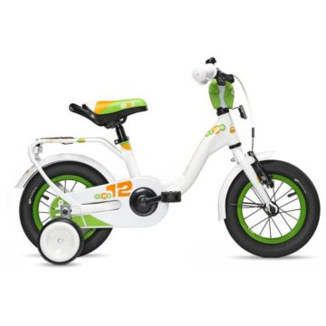 "Велосипед S'cool niXe 12"" (2016) белый"