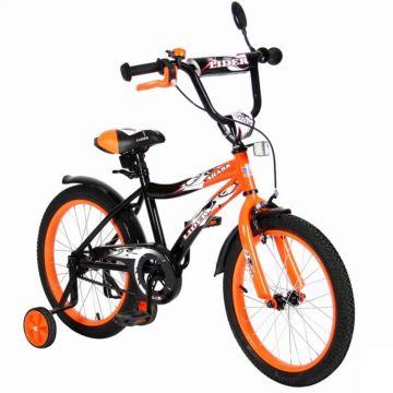 """Детский велосипед Velolider Shark 18"""" Оранжевый/Черный"""